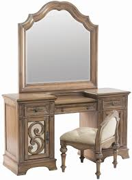 Pine Vanity Table Ilana Antique Linen Panel Storage Bedroom Set From Coaster