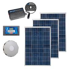 Ultimate Solar Panel by Coleman 300 Watt Solar Kit With Charge Controller Inverter And