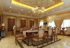 Luxurious Dining Rooms Luxury Dining Room Decoration With Many Details To Consider