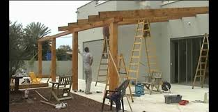 How To Build A Wooden Pergola by Pergola Gazebo Decks Youtube