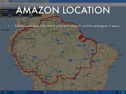 Amazon River World Map by Physical Geography By Shontese Jackson