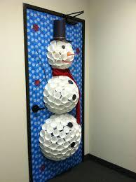 snowman door decorations kari swan s door