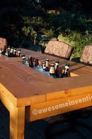 Cool Patio Tables Cool Patio Table Our Future Home Pinterest Patio Table