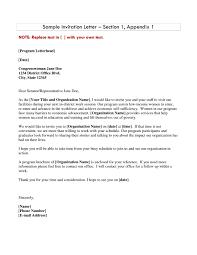 sample invitation letter to embassy free printable invitation design