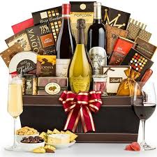 wine and gift baskets top of the line luxury wine gift basket upscale gifts