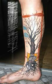 lower leg tree of search