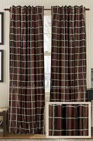 Lattice Design Curtains Entwine Faux Silk Curtain Panel Best Window Treatments