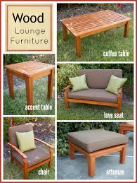 Wooden Outdoor Lounge Furniture Wood Lounge Furniture Rental Encore Events Rentals