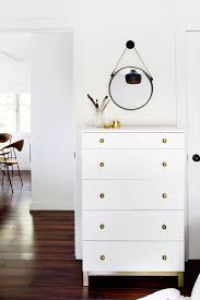 painting ikea dresser sarah sherman samuel cabin progress bedroom storage sarah sherman