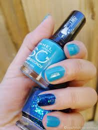 rimmel london 60 seconds nail polish in 825 sky high