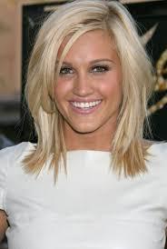 shoulder length hairstyke oval face cute medium length hairstyles for blonde hair and oval face shape