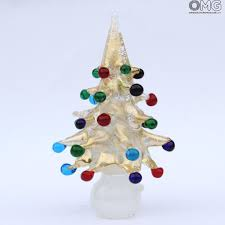 tree with balls in murano glass