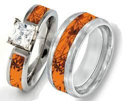 Camo Wedding Rings by Wedding Rings Pink Camo Diamond Wedding Ring Set Pink Camo