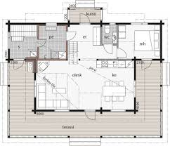 Bonanza House Floor Plan by Bonanza Kontio