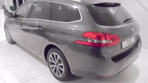 peugeot 308 308 sw allure 130 pk youtube