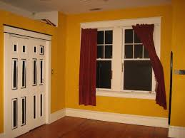 what color goes with orange walls perfect curtains curtain color