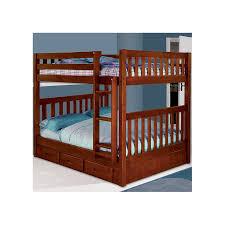 Viv Rae Kaitlyn Full Over Full Bunk Bed  Reviews Wayfair - Full bunk bed