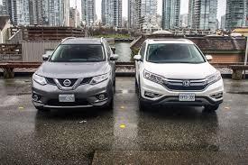 nissan rogue infiniti equivalent comparison test 2015 honda cr v vs nissan rogue autos ca