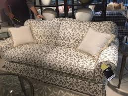 Patterned Loveseats Patterned Sofas In Small Spaces