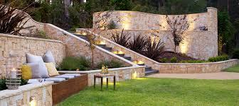 Sloped Backyard Landscape Ideas Sloped Backyard Landscaping Space Landscape Designs