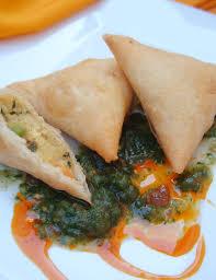 ma cuisine indienne entrées indiennes recette indienne oignons bhaji samosas aux