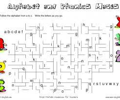 alphabet maze worksheet worksheets aquatechnics biz