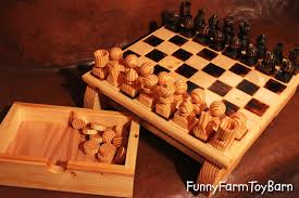 custom steel and gold chess set by matthew weinberger metalsmith