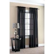 Black Sheer Curtains Sheer Black Curtains Black Sheer Curtains Mirak Black Sheer