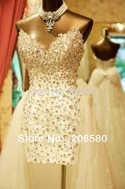 aliexpress com buy bling high low wedding dresses real photo