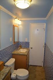 Narrow Bathroom Designs Colors Narrow Bathroom Remodel Guest Bathroom With Beach Color Theme