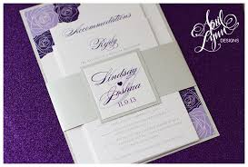 purple and silver wedding invitations lavender and silver wedding invitations wally designs