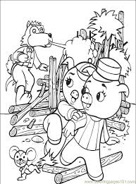 pigs 001 6 coloring free coloring