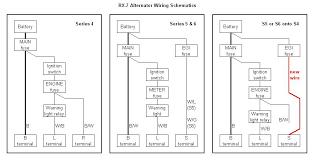 s6 alternator wiring rx7club com mazda rx7 forum