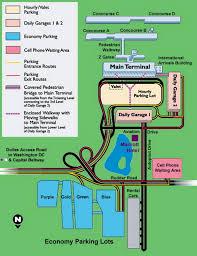 Dulles Terminal Map Airport Parking Map Dulles Airport Parking Map Jpg