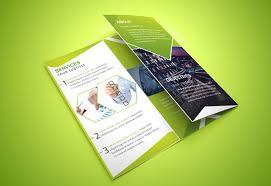 tri fold brochure template free indesign tri fold brochure