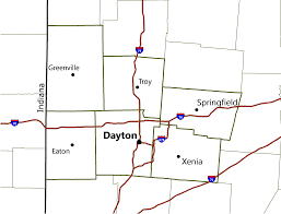 Dayton Map Rapca Regional Air Pollution Control Agency Home