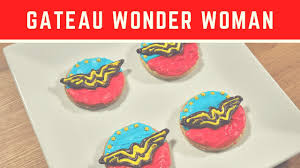 wonder woman cake shortbread nerdy nummies geeky cooking show