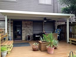 free standing aluminum patio cover in clear lake tx a 1