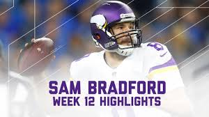 who do the lions play on thanksgiving sam bradford vikings vs lions nfl week 12 player highlights