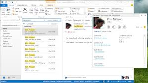 Microsoft Outlook Email For Business by Skype Integrates With Outlook