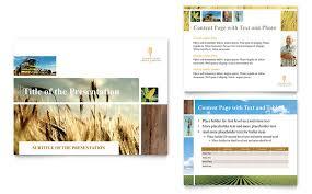 farming u0026 agriculture powerpoint presentation template design