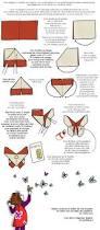 Pliage De Serviette En Papier 2 Couleurs Papillon by