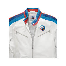 bmw motorsport clothing bmw motorsport s heritage leather jacket jackets apparel