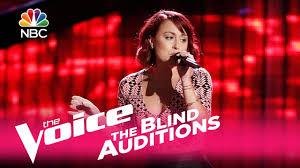 Blind Christian Female Singer The Voice 2017 Blind Audition Casi Joy