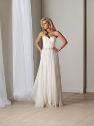 chiffon wedding dresses the sexiest backless chiffon wedding dresses cherry