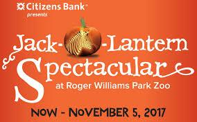 jack o lantern spectacular roger williams park zoo