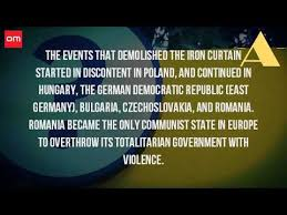 Who Coined The Phrase The Iron Curtain What Are The Countries Behind The Iron Curtain Youtube