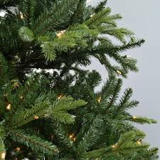 12 u0027 feel real tiffany fir artificial christmas tree clear lights