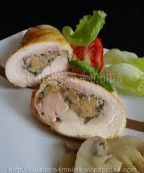 comment cuisiner les cuisses de poulet cuisses de poulet désossées et farcies aux chignons cuisine à 4