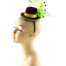 mardi gras headband mini mardi gras hat headband 26018mgaj mardigrasoutlet
